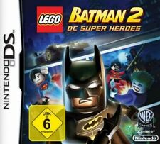 Nintendo DS 3ds LEGO Batman 2 DC SUPER HEROES come nuovo