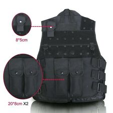 Tactical Vest Outdoor SWAT Police Combat Assault Airsoft Molle Paintball Wargame