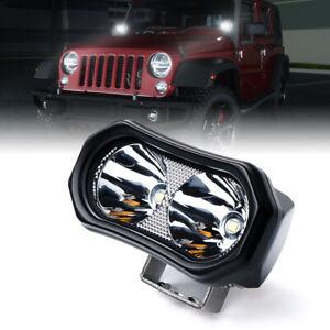 Xprite LED Work Light Spot Beam 6000K Offroad Driving Fog Lamp Truck UTV ATV 4WD