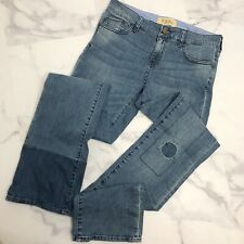 Holding Horses Anthropologie Size 29 The Claire Patchwork Denim Jeans