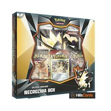 Pokemon: Dusk Mane Necrozma Collection Box: Inc 3 Booster Packs + Promo Cards