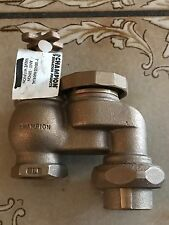 1'in Anti-Siphon Valve Champion  466-100 with union