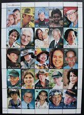 """Nuevo milenio """"cara de Australia hoja de sellos"""", 2000, Australia Ref: 1922-1946"""