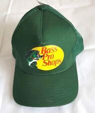 Bass Pro Shop Gone Fishing Mesh Trucker Hat Snapback Adjustable Logo Printed