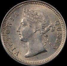 Straits Settlements 1888 Silver 5 Cents KM#10 PCGS MS63