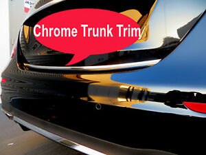Fit VOLVO 2003-2019 Models Tailgate TRUNK Trim Molding - CHROME Style