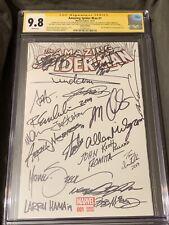 Amazing Spider-man 1 (2015) Cgc 9.8 SS X 42 W/ Stan Lee Neal Adams John Romita +