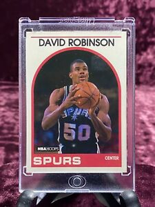 David Robinson 1989-90 Hoops #310 RC San Antonio Spurs HOF Rookie Card Duncan🏆