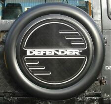 LAND ROVER DEFENDER 4x4 Semi-Rigid Spare Wheel Cover WITH DEFENDER LOGO