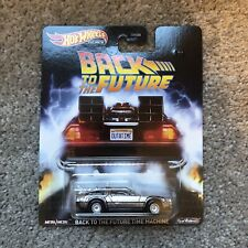Hot Wheels Premium Back To The Future Time Machine Delorean