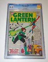 GREEN LANTERN #25 CGC 8.5 Gil Kane 1963 Silver Age DC Comics OW/W