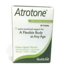 HealthAid Atrotone Cozze Dalle Labbra Verdi MSM Glucosamina Curcuma 60 Tablets