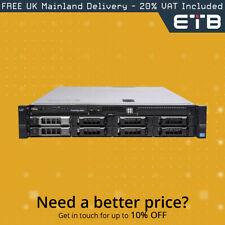 """Dell PowerEdge R520 1x8 3.5"""" Hard Drives - Build Your Own Server"""