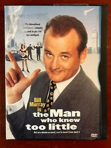 The Man Who Knew Too Little (DVD, 1997) - G0823