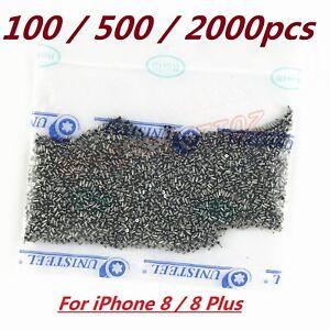 Lot 100-2000 OEM White Sliver Pentalobe Bottom Dock Screws For iPhone 8 / 8 Plus
