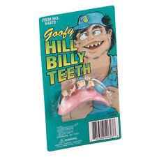 Falscher Goofy Hill Billy Bad falsch Zähne Kostüm Buchwoche Zubehör