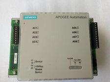 SIEMENS APOGEE Automation 549-212 Digital Point eXpansion,HOA Ready 4DI,4DO