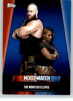 2019 WWE Womens Division Mixed Match #1 Braun Strowman Ember Moon /25