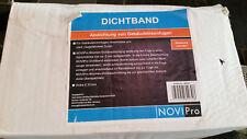 Novipro Dichtband 250mm x 50m Abdichtung in Dickbeschichtung Gebäudefugen