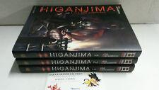 Lot manga découverte Higanjima tomes 1 à 3 Koji Matsumoto Seinen Soleil Horreur