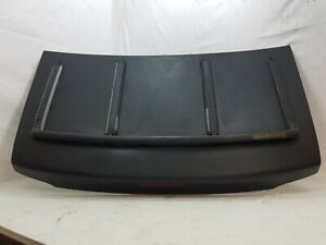90-97 MAZDA MIATA MX-5 OEM TRUNK LID Brilliant Black With Storage Rack Sun Faded