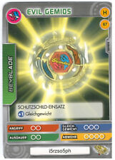 H 67 Evil gemios-DeAgostini Beyblade Battle card Collection 2011 (6)