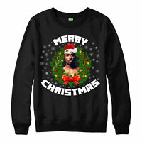 Tupac 2pac, Notorious Christmas, Jumper Hip Hop Festive Birthday Gift Jumper Top