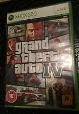 Grand Theft Auto IV (GTA 4) for Xbox 360 Manual & Map Included 2008 Released