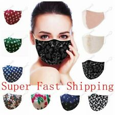 Cotton Face Mask Fashion Soft Cloth Cover Reusable Washable Breathable Covering