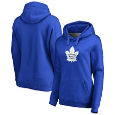 Toronto Maple Leafs Hoodie (Size M) Women's NHL Primary Colour Graphic - New
