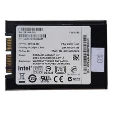 """Intel 80GB SSD 1.8"""" SATA 3Gb/s Laptop Micro SATA SSD Drive SSDSA1MH080G1HP"""