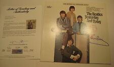 PAUL McCARTNEY Signed Beatles' YESTERDAY AND TODAY Album w/ PSA COA GRADED 10