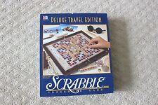 Milton Bradley Deluxe Travel Edition Scrabble Board Game Crossword Game