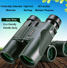 USCAMEL Military HD 10x42 Binoculars Professional Hunting Telescope Zoom Outdoor