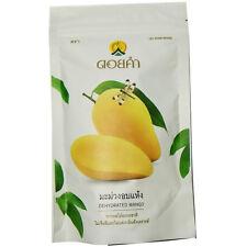 Dehydrated Mango Vegan Halal Thai Natural tropical Dried fruit sweet snack140g