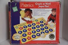 Leap Frog Phonics Create-a-Word Super Mat Interactive Talking Play Mat May Toy