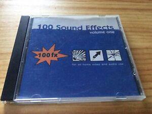 RARE! 100 FX: 100 SOUND EFFECTS: VOLUME ONE - AUDIO SAMPLE CD