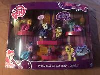 My Little Pony Royal Ball at Canterlot Castle Exclusive Figure Set