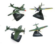 Lot 4 avions WW2 1/72 Atlas Hawker Messerschmitt Thunderbolt - MODEL AIRCRAFT