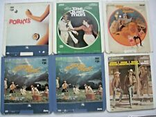 VINTAGE LOT OF 6 CED SELECTA VISION VIDEO DISCS