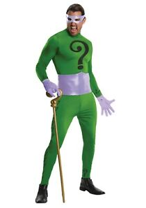 Men's Riddler Classic Series Grand Heritage Costume SIZE XL (with defect)
