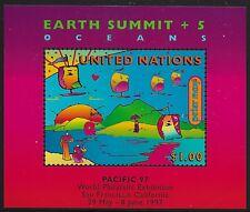 UN Scott #NY 708A, Souvenir Sheet 1997 Complete Set FVF MNH