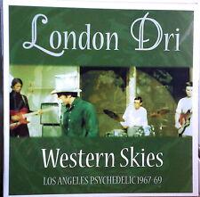 LONDON DRI - WESTERN SKIES 1967-69 LOS ANGELES GARAGE & PSYCH #68 of 100 NEW LP