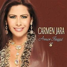Carmen Jara  Amor Ilegal CD New Nuevo Sealed