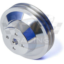 AMC Water Pump Pulley 2 Groove V-Belt 304 360 401 AMX Billet Aluminum Jeep