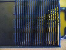 2 x mini drill bits miniature small drill bit set 0.3 to 1.6 mm 20 pieces pack