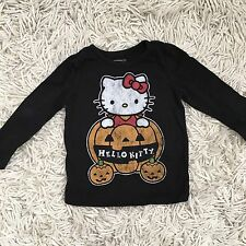 Hello Kitty Toddler Halloween Long Sleeve 18-24 Months
