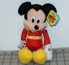 "Just Play Disney Junior 9.5"" Stuffed Plush Roadster Racer MICKEY - New NWT"