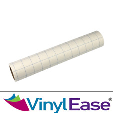 12 In X 40 Ft Paper Transfer Tape Grid Backing 4 Sign Craft Vinyl Best Seller