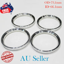 4pc 73.1mm OD to 66.1mm ID Hub Centric Rings - Aluminum Hubcentric Rings